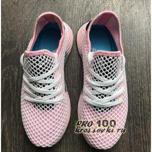 женские кроссовки Adidas Deerupt Pink
