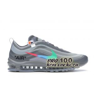 кроссовки Off white for Nike Air Max 97 Menta Gray