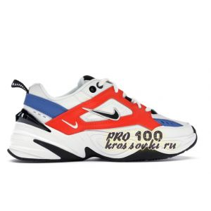 Nike M2K Tekno White Black Orange