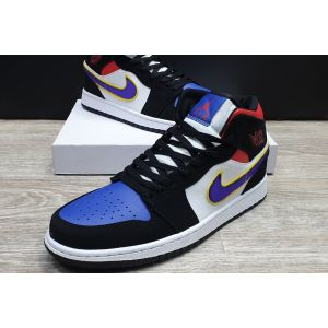 Jordan 1 Mid Lakers Top 3