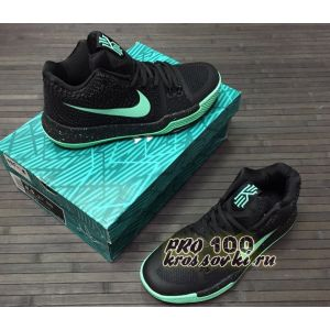 Nike Kyrie Irving 3 Basketball Shoes Green Black
