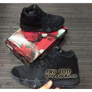 Высокие кроссовки Nike Kyrie 4 White All Black