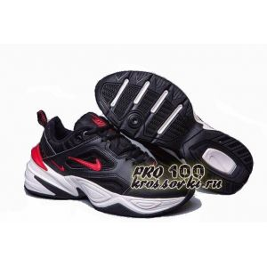 Nike M2K Tekno White Black Red