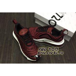 Кроссовки Nike Air Max 720 бордовые