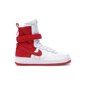 Nike SF Air Force 1 High White University Red