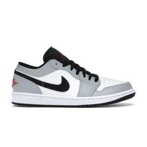 кроссовки Air Jordan 1 Low Light Smoke Grey