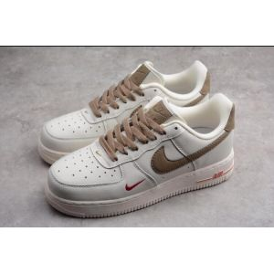 Air Force 1 Low White Gym white brown