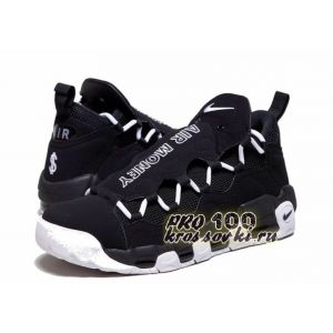"Nike Air More Money ""Black-White"""