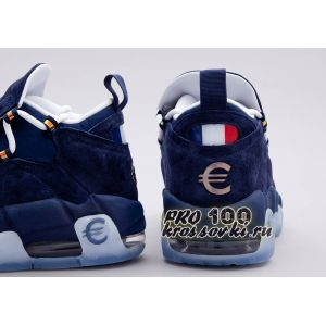 Nike Air More Money French Euro Navy Blue