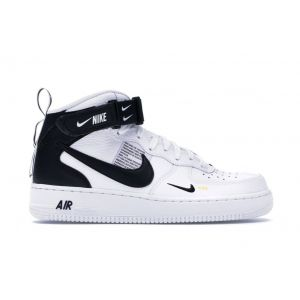 Nike Air Force 1 Mid Utility White Black