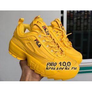 Женские кроссовки FILA Disruptor II Yellow