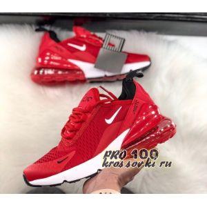 Кроссовки Nike Air Max 270 красные