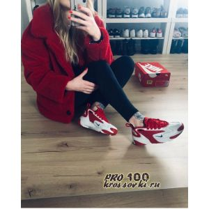 кроссовки Nike Zoom 2K White-Red