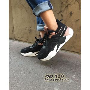 женские Puma RS-X Black-White-Pink