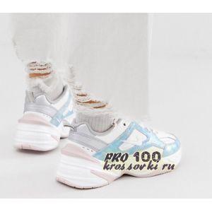 Женские Nike M2K Tekno White-Blue
