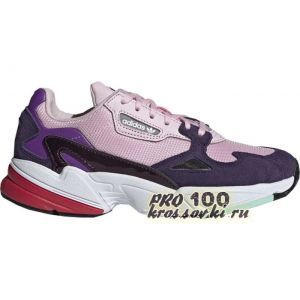 кроссовки Adidas Falcon Clear Pink Legend Purple