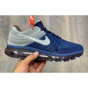 кроссовки Nike Air Max 2017 серо-синие