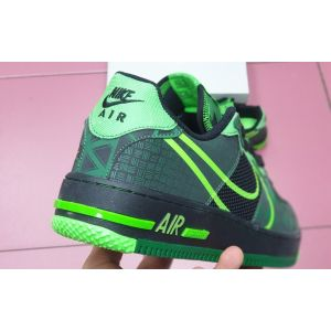Nike Air Force 1 REACT GREEN