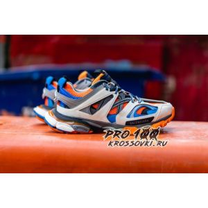 Кроссовки Balenciaga Track Orange Blue