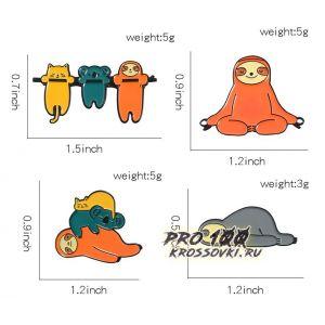 Набор значков на одежду и рюкзаки № 2