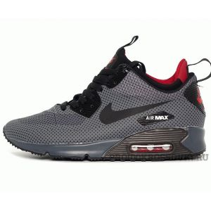 Кроссовки Nike Air Max 90 Mid Winter Grey Red