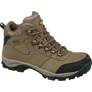 Трекинговые коричневые ботинки