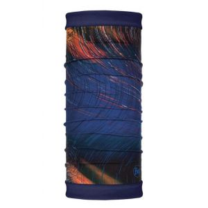 Шарф-труба с флисом двухсторонний Buff Polar Reversible Ionosphere Night Blue