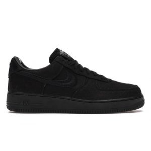 Кроссовки Stussy x Nike Air Force 1 Black Low