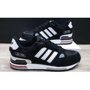 кроссовки Adidas ZX 750 Men Black/White