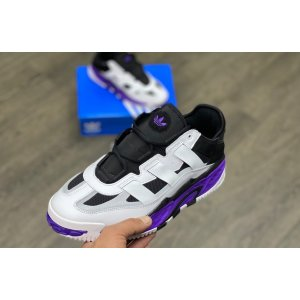Adidas Niteball White Purple