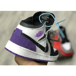Jordan 1 Retro Mid Purple