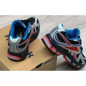 Reebok Spike Runner 200 Vetements Grey Red Blue