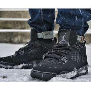 кроссовки Nike Air Jordan IV (4) Retro черный