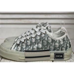 женские белые кожаные кроссовки Dior -копия
