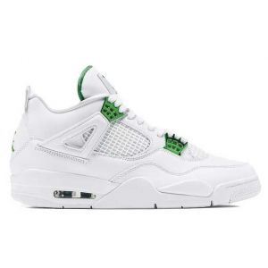 женские Jordan 4 Retro Metallic Green