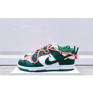 Nike Dunk Low Off-White University Green White