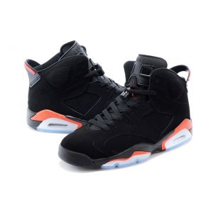 кроссовки Nike Air Jordan 6 Retro Men (Black/Infrared 23-Black)