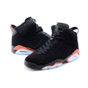кроссовки Nike Air Jordan 6 Retro Men (Black/Infrared 23-Black)