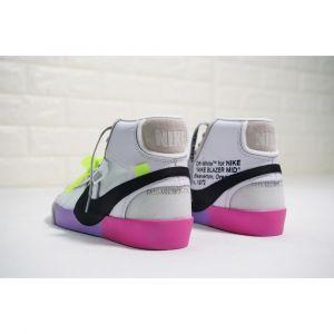 Nike Blazer Mid Off-White Wolf Grey Serena