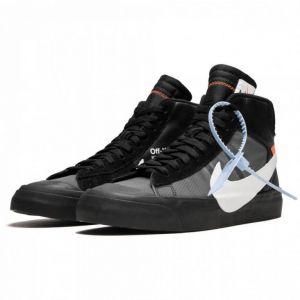 Nike Blazer Mid Off-White Grim Reaper черные