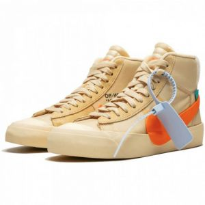 Nike Blazer Mid Off-White All Hallow's Eve высокие