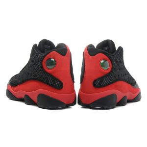 кроссовки Air Jordan 13 (черный/красный)
