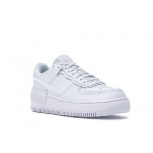 белые Nike Air Force 1 Shadow Triple White