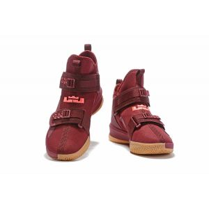 Nike LeBron Soldier 13 Burgundy Gum Men's Basketball Shoes