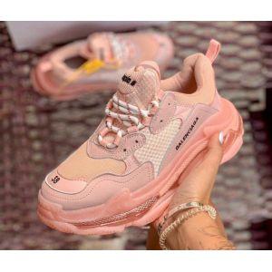 Кроссовки Balenciaga Triple S Pink