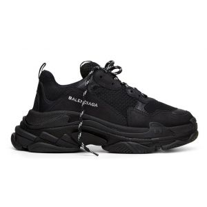 Кроссовки Balenciaga Triple S (Black) - 2