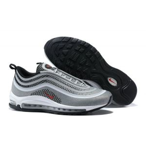 Кроссовки Nike Air Max 97 Ultra 17 Wolf Grey Red Black