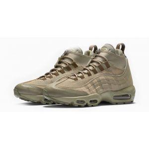 Кроссовки Nike Air Max 95 Sneakerboot бежево-оливковые