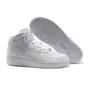 кроссовки Nike Air Force 1 Mid '07 High white