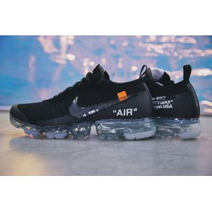 кроссовки OFF-White Nike Vapormax Black -2